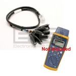 Fluke Networks CIQ-100 Cable IQ Residential Qualification Tester CLIP-SET RJ45 To 8 - Clip Test Lead 2ft Insulated Cable Assembly