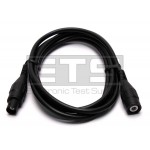Fluke PM9091/001 50 OHM 5ft. Coaxial Cable With Black Male/Female Connectors