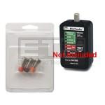 Set Of 3 Ideal Coax Terminator Plug Set For 62-202 MiniTracker Coax Tester