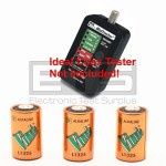 Ideal 62-202 MiniTracker Coax Tester 6 Volt Alkaline Battery 3 Pack