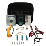 Fluke Networks MicroTest MicroScanner Pro Cable Tester Kit & A-Bug 140 Tone Probe