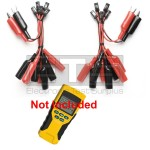 Klein Tools VDV Scout Pro LT Individually Numbered 2 Wire / Alarm Wire Remote Identifier ID Clip Set #11-19
