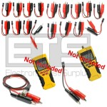 Klein Tools VDV Scout Pro / Pro 2 Individually Numbered 2 Wire / Alarm Wire Remote Identifier ID Clip Set #1-19