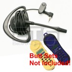 Test-Um JDSU Lil Buttie  LB230 LB255 Butt Set LB40 Hands-Free Mini Headset 2.5mm Plug 4ft. Cord