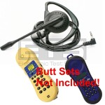 Test-Um JDSU Lil Buttie LB255AUS LB110AUS Butt Set LB40 Hands-Free Mini Headset 2.5mm Plug 4ft. Cord