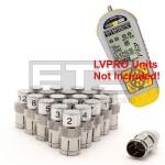 Byte Brothers LVPRO 1 LVPRO 2 LVPRO-COAXID Coax Remote Identifier Mapper IDs Set 1-20