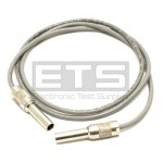 75 Ohm Patch Plug Miniature Precision Coax Cable