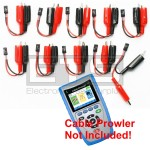 Platinum Tools Cable Prowler TCB360K1 TCB300 Individually Numbered 2 Wire / Alarm Wire Remote Identifier ID Clip Set #1-10