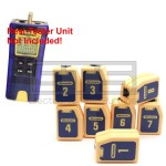Test-Um JDSU Resi-Tester TP300 TP610 Wiremapping Network Remote Identifiers Set 1-8