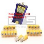 Test-Um JDSU Resi-Tester TP300 TP314 RJ11 Remote Identifier Mapper IDs 1-20