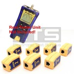 Test-Um JDSU Resi-Tester TP300 TP608 Wiremapping Network Remote Identifiers Set 2-8