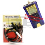 Test-Um JDSU Resi-Tester TP300 TP68 2ft. RJ45 Plug To 8 Insulated Miniature Alligator Clip Set