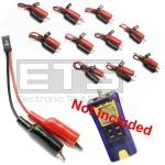 Test-Um JDSU Resi-Tester TP300 TP315 2 Wire Identifier Mapper ID Clip Set 11-20