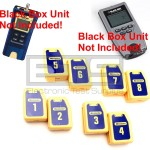 Wiremapping Network Remote Identifiers Set 1-8 Black Box Soho TS590A & Soho Plus Testers