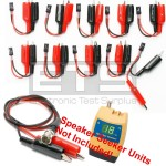 Test-Um JDSU Speaker Seeker TP400 TP410 TP315 2 Wire Identifier Mapper ID Clip Set 1-10