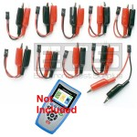 T3 Innovations Cable Prowler CB350 CB400 Individually Numbered 2 Wire Identifier Mapper IDs Clip Set 11-20