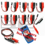 T3 Innovations Net Chaser NC950 NC950AR Individually Numbered 2 Wire Identifier Mapper IDs Clip Set 1-10