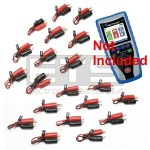 T3 Innovations Net Prowler NP700 Individually Numbered 2 Wire Identifier Mapper IDs Clip Set 1-20