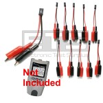 T3 Innovations Tri Tester TTK550A TTK550B 2 Wire Identifier Mapper IDs Clip Set 11-20