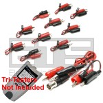 T3 Innovations Tri Tester TTK555 TTK555A 2 Wire Identifier Mapper IDs Clip Set 1-10