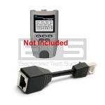 T3 Innovations Tri-Tester TT500 TT550 CA014 Sacrificial RJ45 Port Saver Dongle Cable