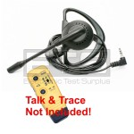 Test-Um JDSU TM110 Talk & Trace LB40 Mini Hands Free Headset 4ft Cord 2.5mm Plug