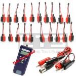 Test-Um JDSU Testifier Pro TP650 TP655 TP315 2 Wire Identifier Mapper ID Clip Set 1-20