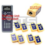 Test-Um JDSU Tri-Porter IVT600 TP610 Wiremapping Network Remote Identifiers Set 1-8