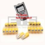 T3 Innovations Tri Tester TT550 TTK550A TTK550B RJ11 Remote Identifier Mapper IDs Set 1-20