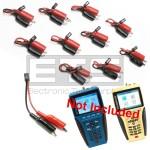 Test-Um JDSU Validator NT900 NT905 TP315 2 Wire Identifier Mapper ID Clip Set 11-20