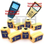 Test-Um JDSU Validator NT950 NT955 TP610 Wiremapping Network Remote Identifiers Set 1-8
