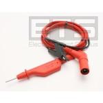 Fluke ScopeMeter 120 Series STL120 Shielded Test Lead And Ground Lead Kit 600 V CAT II 48in Cord